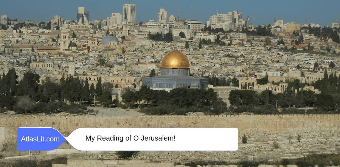 O Jerusalem AL1